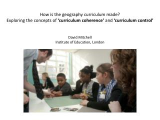 My research: How is the geography curriculum made?