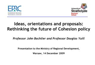 Rethinking Cohesion policy