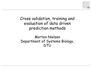 Data driven method training