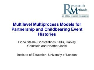 Multilevel Multiprocess Models for Partnership and Childbearing Event Histories