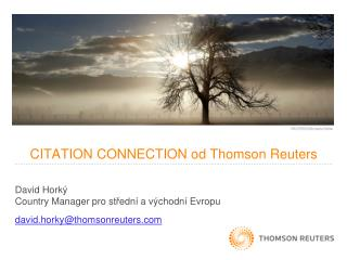 CITATION CONNECTION  od  Thomson Reuters