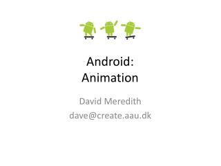 Android: Animation