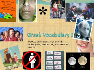 Greek Vocabulary 5