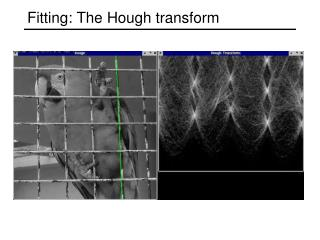 Fitting: The Hough transform