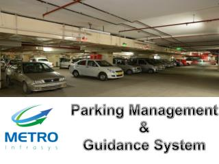 Parking Management  &  Guidance System