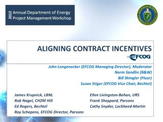 ALIGNING CONTRACT INCENTIVES