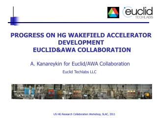 PROGRESS ON HG WAKEFIELD ACCELERATOR DEVELOPMENT  EUCLID&AWA COLLABORATION