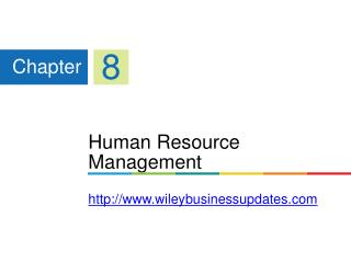 Human Resource Management wileybusinessupdates
