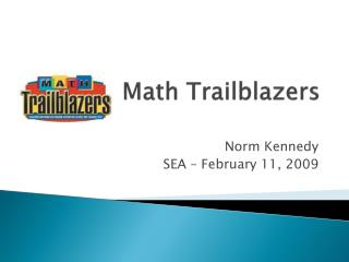 Math Trailblazers