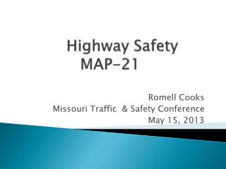Highway Safety MAP-21