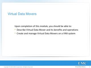 Virtual Data Movers