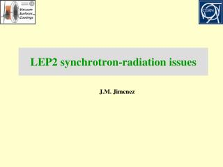 LEP2 synchrotron-radiation  issues