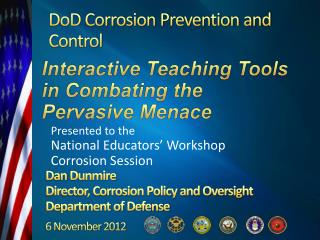 DoD Corrosion Prevention and Control