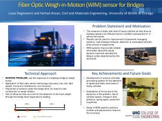 Fiber Optic Weigh-in-Motion (WIM) sensor for Bridges