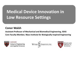 Medical Device Innovation in Low Resource Settings