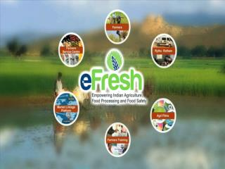 Are you a stake holder in the Dairy Sector ???? eFresh is for you !