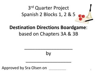 Approved by Sra Olsen on ________