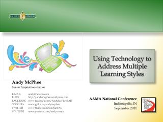 Using Technology to Address Multiple Learning Styles