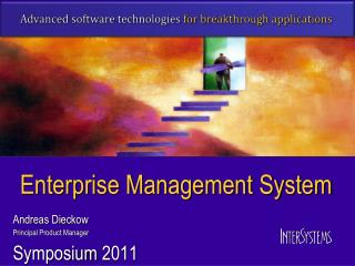 Enterprise Management System