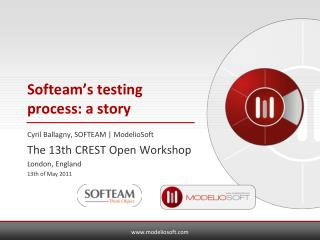 Softeam's testing process: a story