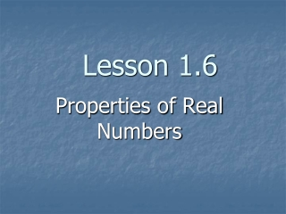 Sets and Whole-Number Operations and Properties