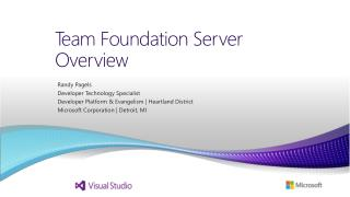 Team Foundation Server Overview