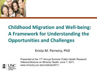 Childhood Migration and Well-being: A Framework for Understanding the Opportunities and Challenges
