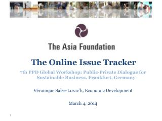 The  Online Issue  Tracker