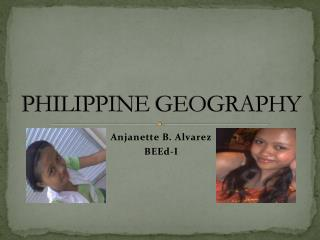 PHILIPPINE GEOGRAPHY