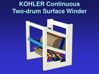 KOHLER Continuous Two-drum Surface Winder
