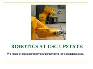 Robotics at USC Upstate
