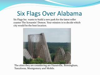 Six Flags Over Alabama
