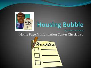 Housing Bubble By Chris  Leishman