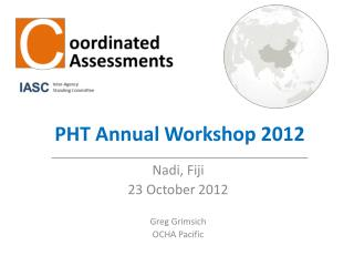 PHT Annual Workshop 2012