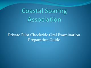 Coastal Soaring Association