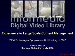 Digital Video Library