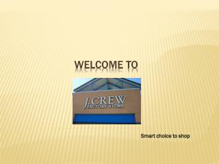 J. Crew Coupon Codes