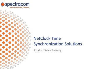 NetClock  Time Synchronization Solutions