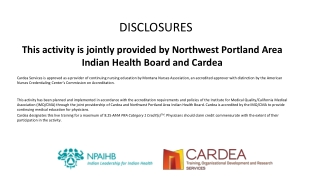 DISORDERS, cont.