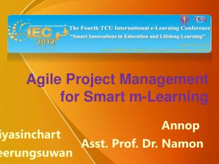 Agile Project Management for Smart m-Learning