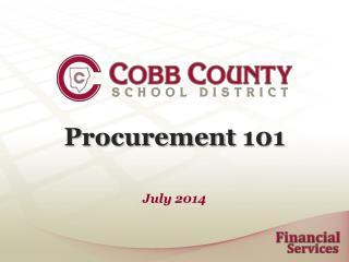 Procurement 101