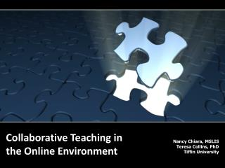 Collaborative Teaching in the Online Environment