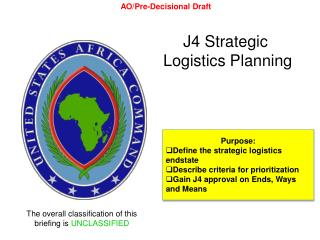 J4 Strategic  Logistics Planning