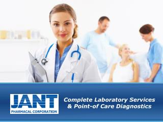 Complete  Laboratory  Services & Point-of  Care Diagnostics