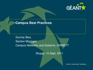 Campus Best Practices