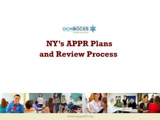 NY's APPR Plans and Review Process