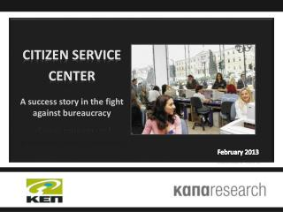 Citizen service center