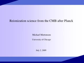 Reionization science from the CMB after Planck