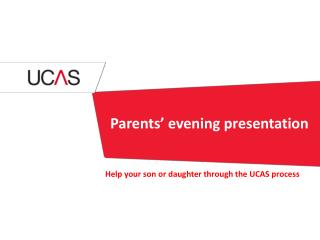 Parents'  evening presentation