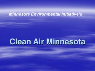 Clean Air Minnesota